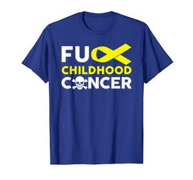 Fuck Childhood Cancer T Shirt Fighting Cancer Together Gifts